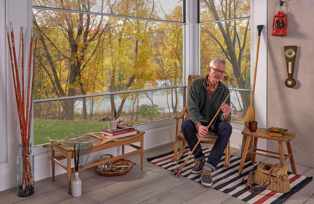Expanse Porch Window - Fishing Room