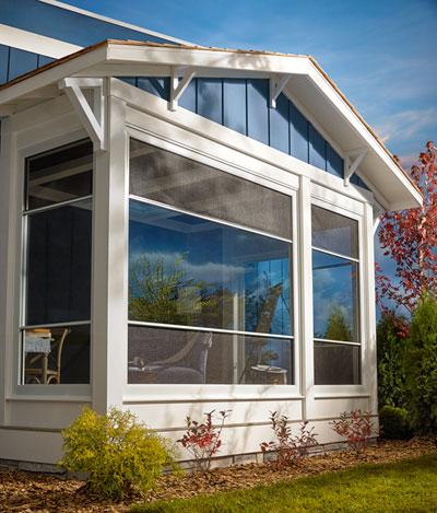 Expanse Porch Window - Outside View
