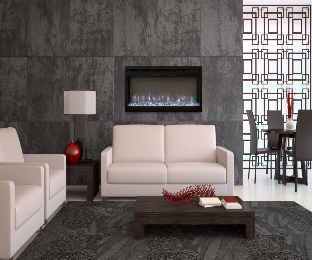 38903721 - modern living-room interior. 3d render.