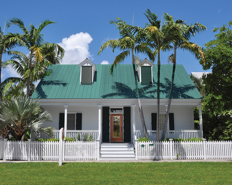 Key West Style House; Shutterstock ID 35476693; PO: 10-01-0023-7300-7138-695; Job: Arch Home Styles Guide; Client: Therma-Tru; Other: Diane Ball
